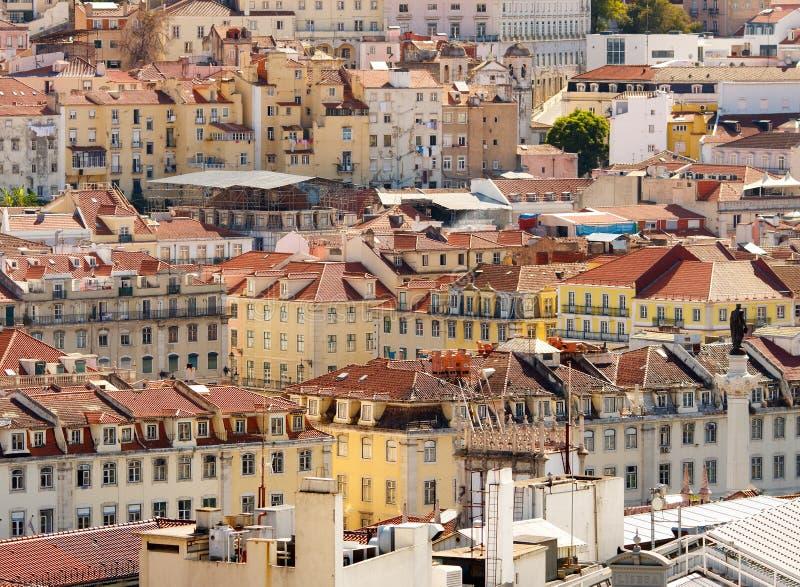 Download Lisbon,Baixa district stock image. Image of district - 21568979