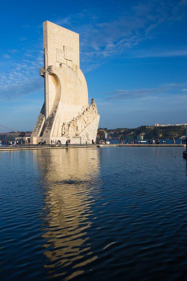 Lisbon, Belem, Portugal 01/05/2014: Padrao dos Descobrimentos - Monument to the Discoveries stock image