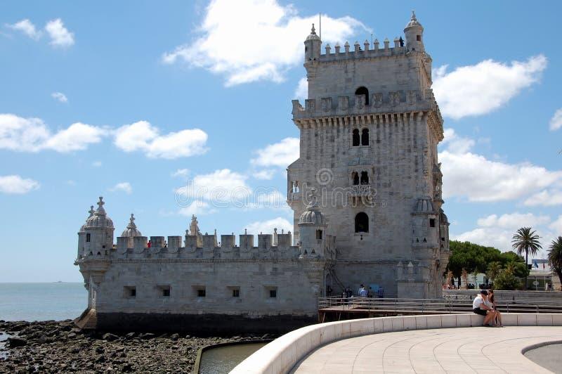 Lisbon belem tower obraz stock