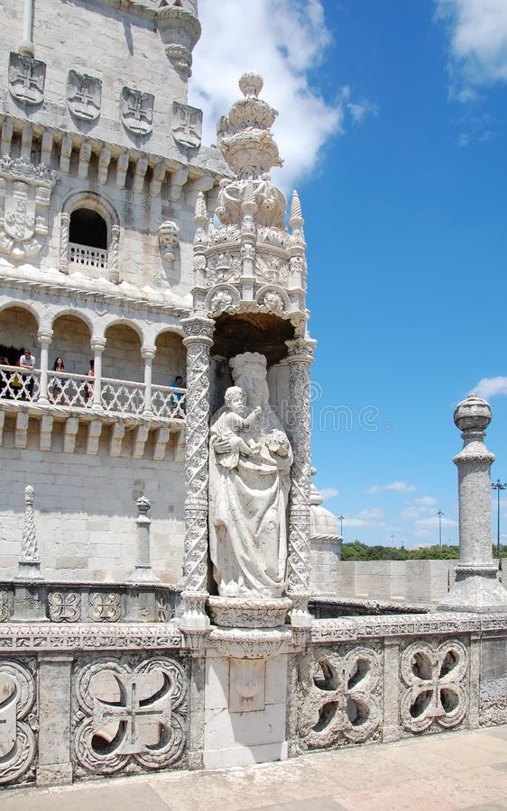 Lisbon belem tower obrazy stock