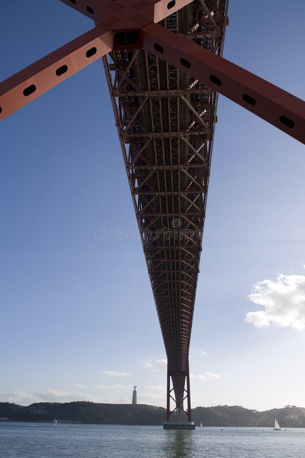 Lisbon bridge royalty free stock images