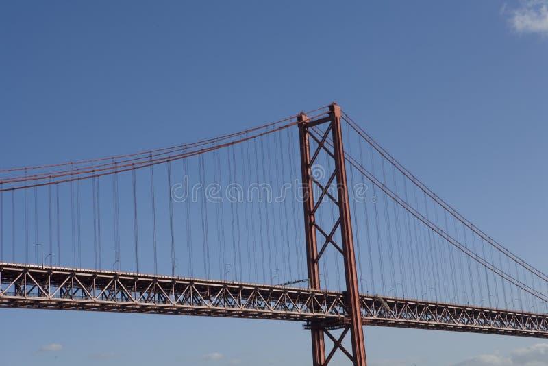 Lisbon bridge stock images