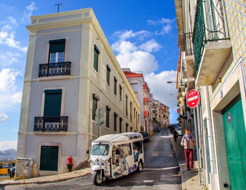 Lisbon: Chowany klejnot Europejski kontynent zdjęcie royalty free