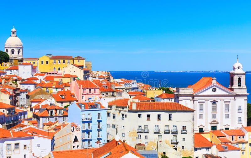 Lisbon cityscape stock photography