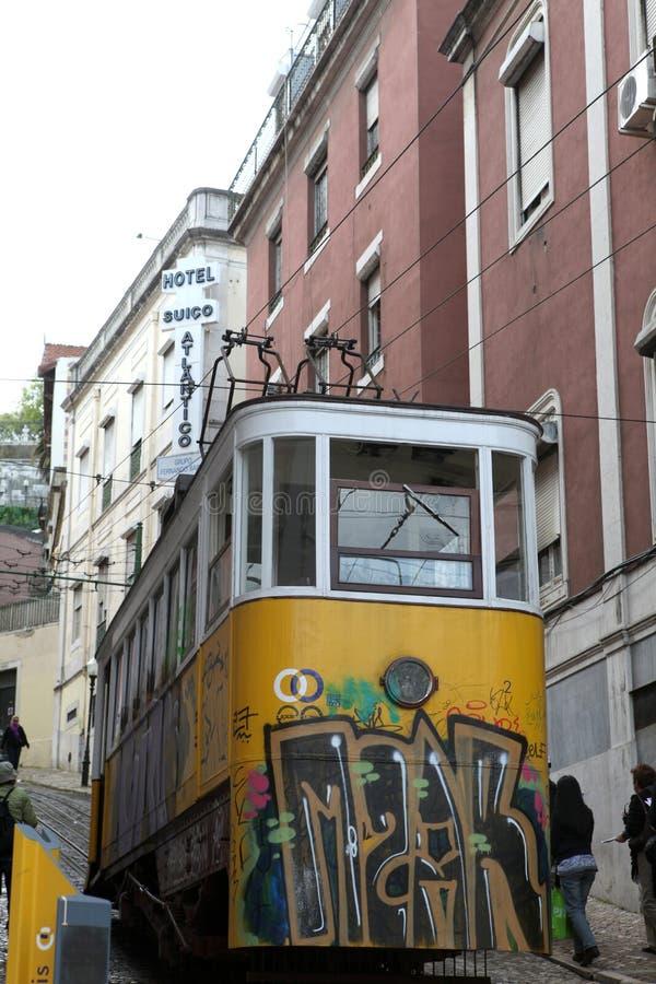 Download Lisbon elevador editorial stock photo. Image of history - 23856888