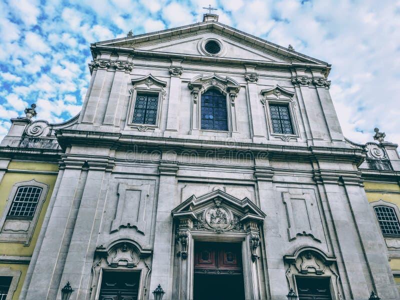 Lisbon miasta budynek zdjęcia royalty free