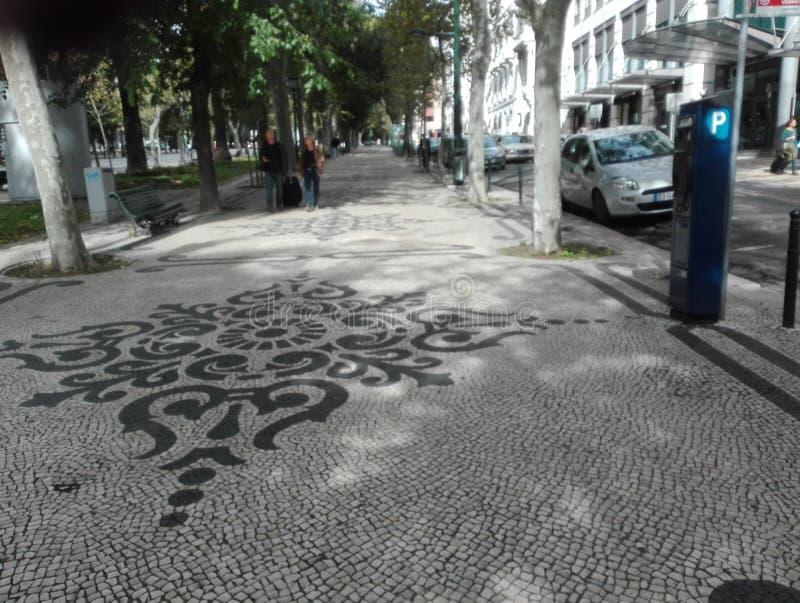 Lisbon miasto everyone obrazy stock