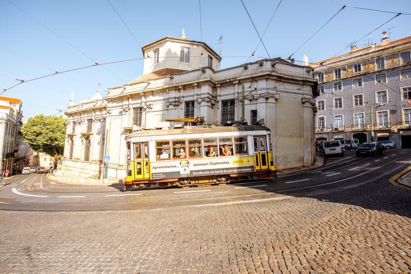 Lisbon miasto w Portugalia obrazy stock