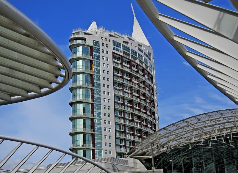 Lisbon modern building royalty free stock image
