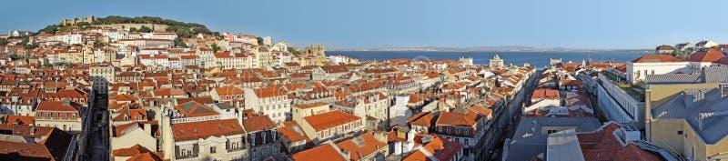 lisbon panorama zdjęcia royalty free