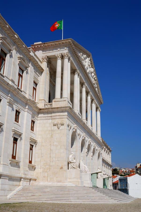 lisbon parlament portugal arkivbild