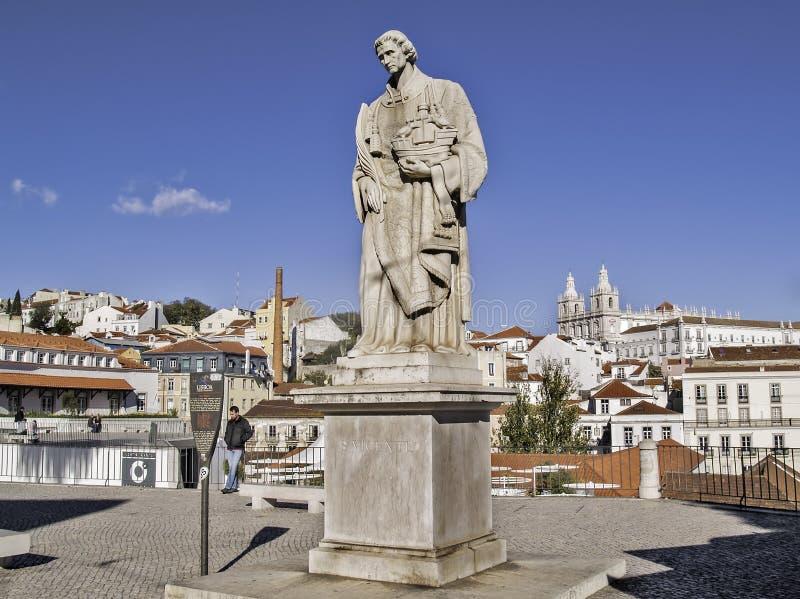 Lisbon Patron Saint Editorial Photo