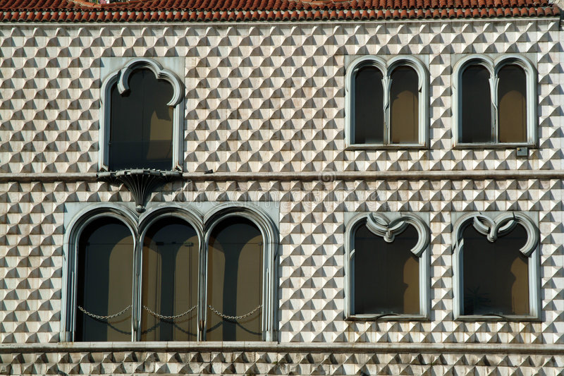 Lisbon pików w domu zdjęcia royalty free