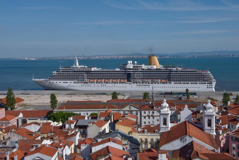 Lisbon Port Portugal Editorial Photography Image Of Light - Lisbon cruise ship port