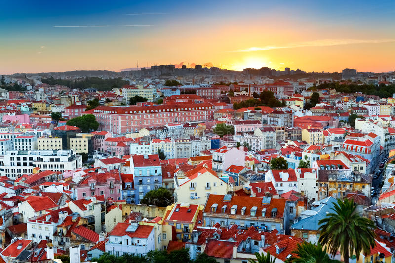Lisbon, Portugal royalty free stock photos
