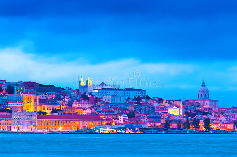 Download Lisbon, Portugal stock photo. Image of city, cloud, building - 23890894