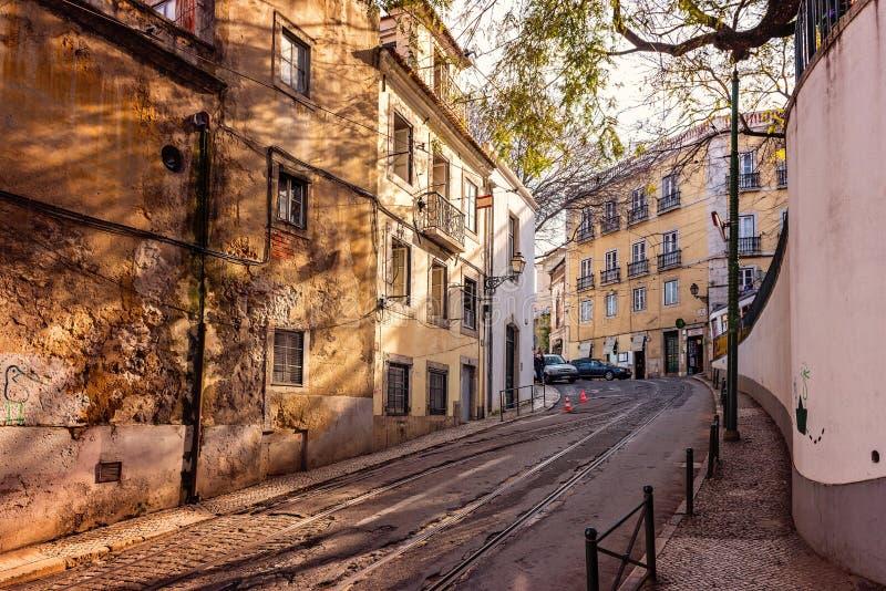 lisbon portugal royaltyfria foton