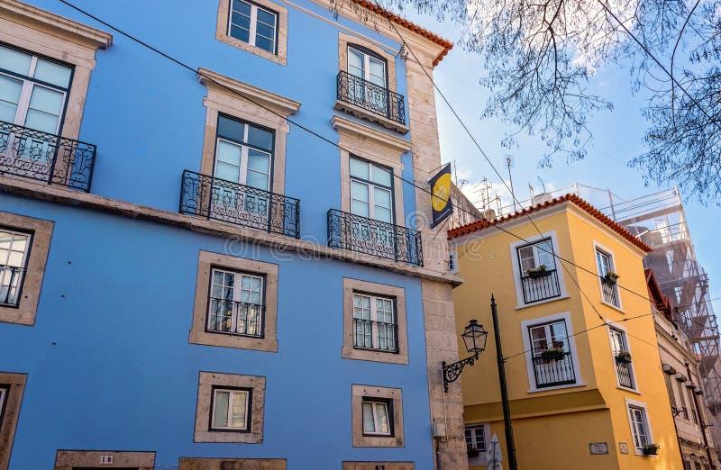 lisbon portugal royaltyfria bilder
