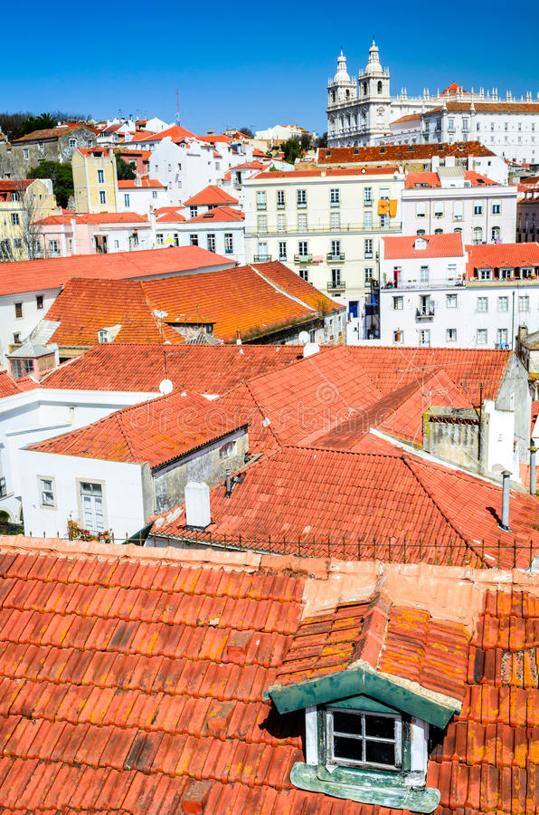 Lisbon, Portugal - Alfama district royalty free stock photography
