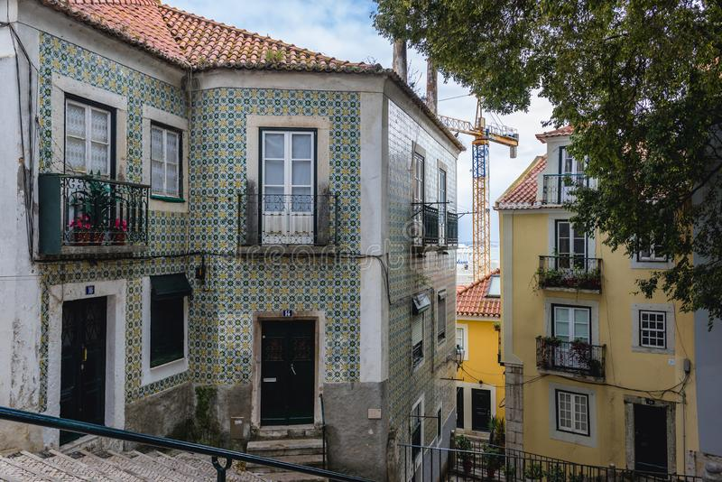 Lisbon in Portugal stock photography