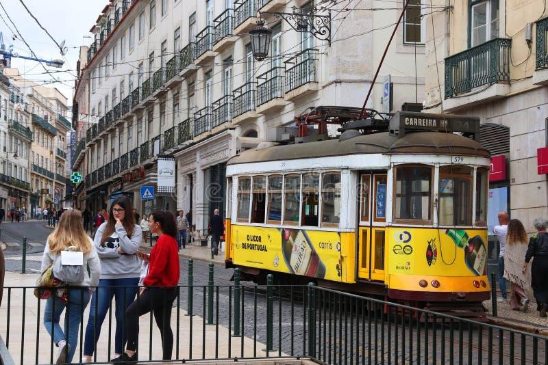 lisbon portugal arkivbild