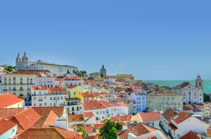 Lisbon, Portugal Roof Tops Free Public Domain Cc0 Image