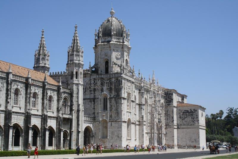 Lisbon's Church Mosteiro dos Jerónimos royalty free stock photos