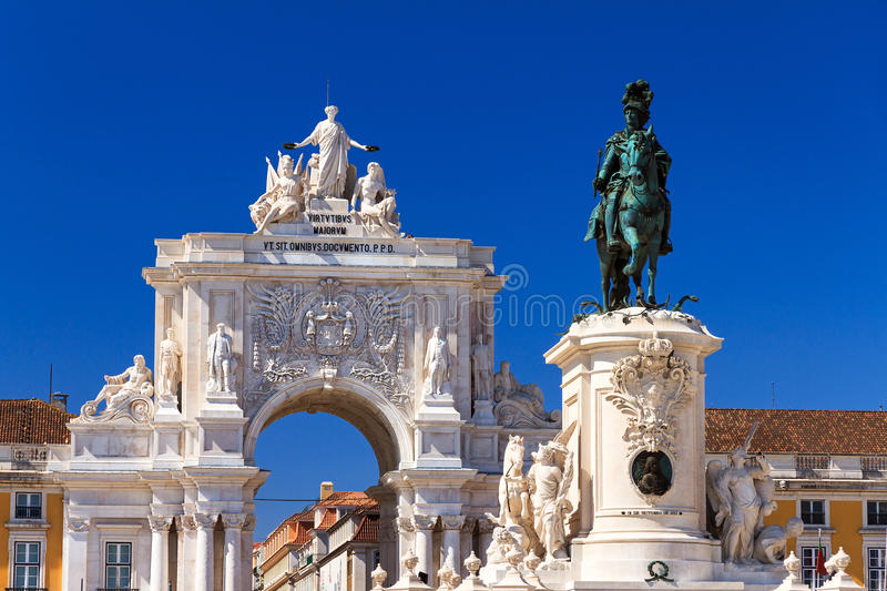 Lisbon Statues Royalty Free Stock Images Image 37627349