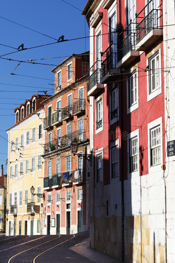 Download Lisbon street stock image. Image of crossing, europe - 21674703