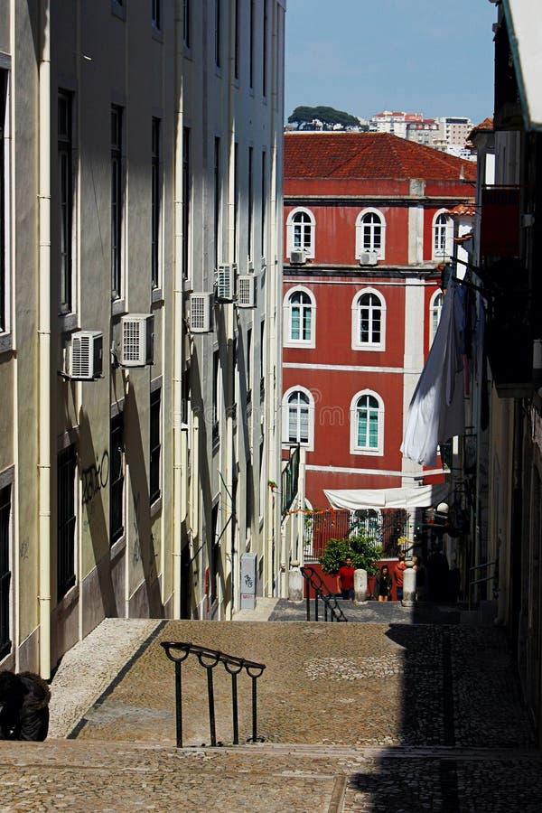 lisbon street zdjęcie royalty free