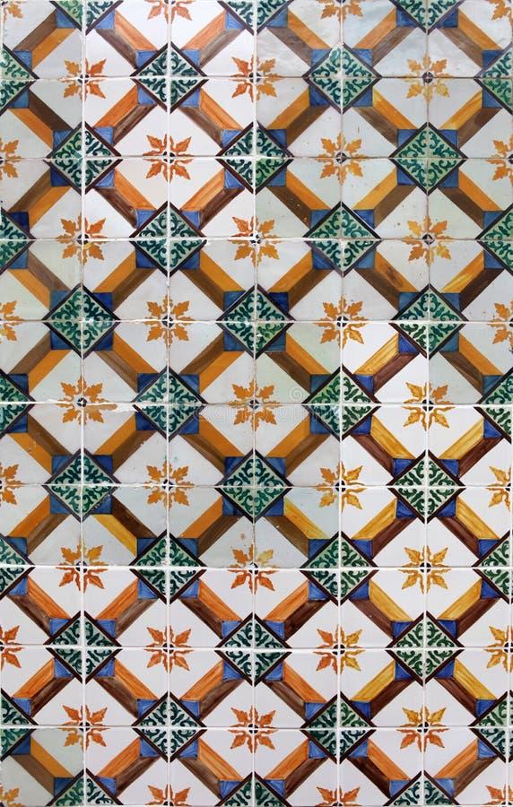 Download Lisbon tegelplattor arkivfoto. Bild av färgrikt, portugis - 19797450