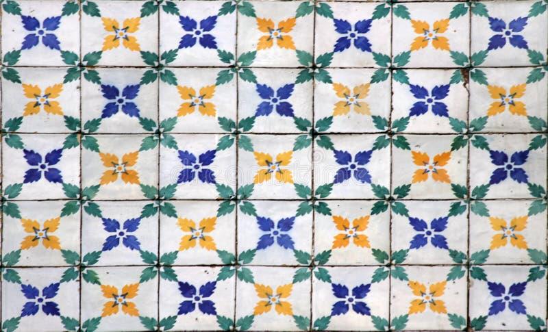 Lisbon tiles royalty free stock photo