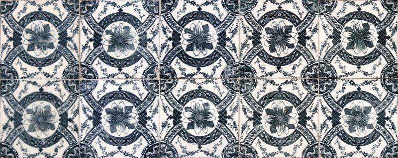 Lisbon tiles stock image