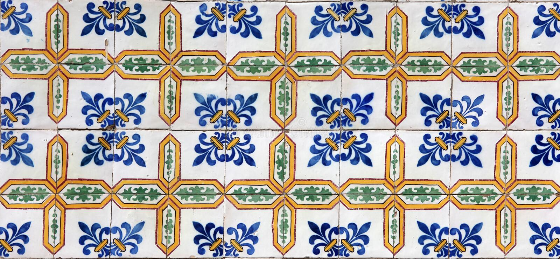 Lisbon tiles royalty free stock photography