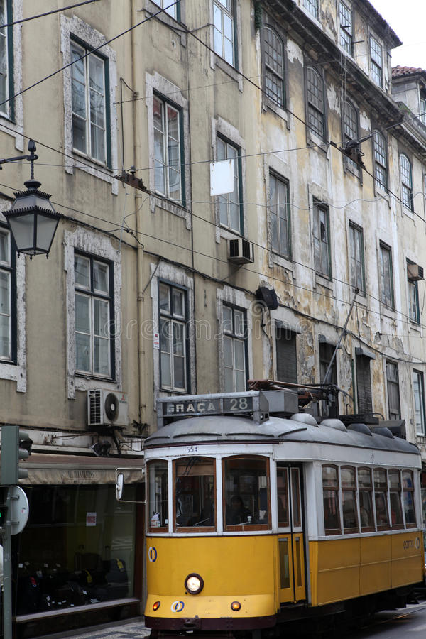 Download Lisbon tram editorial image. Image of historic, architecture - 19942790