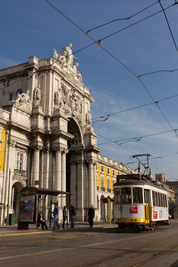 Download Lisbon Tram Editorial Stock Image - Image: 23097529