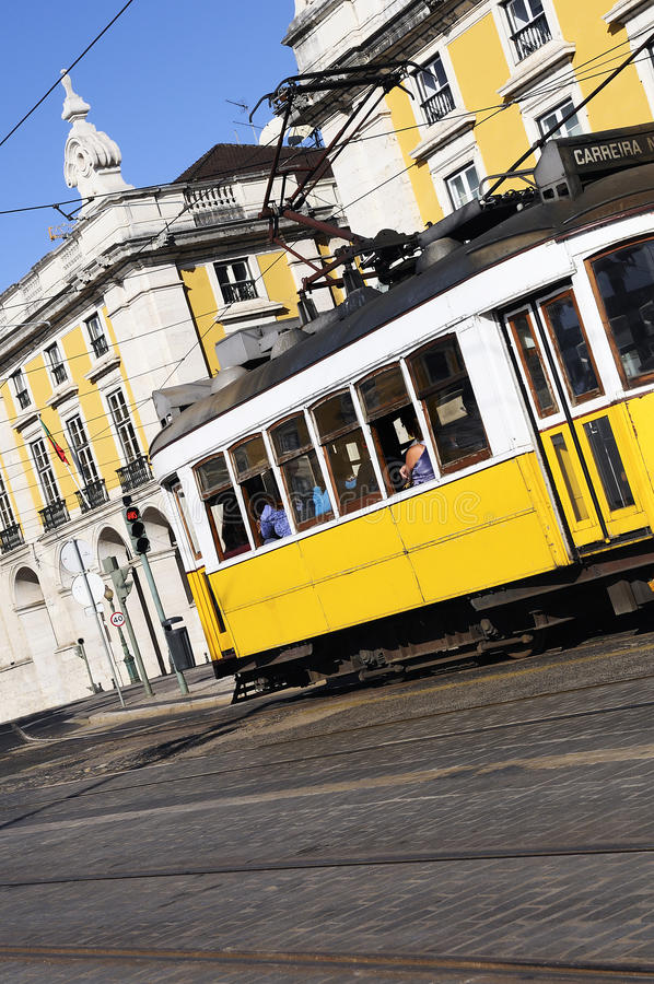 Download Lisbon Tram Royalty Free Stock Photos - Image: 25844448