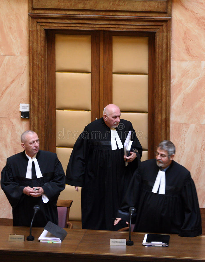 Download Lisbon Treaty On Czech Constitutional Court Editorial Stock Photo - Image: 11607638