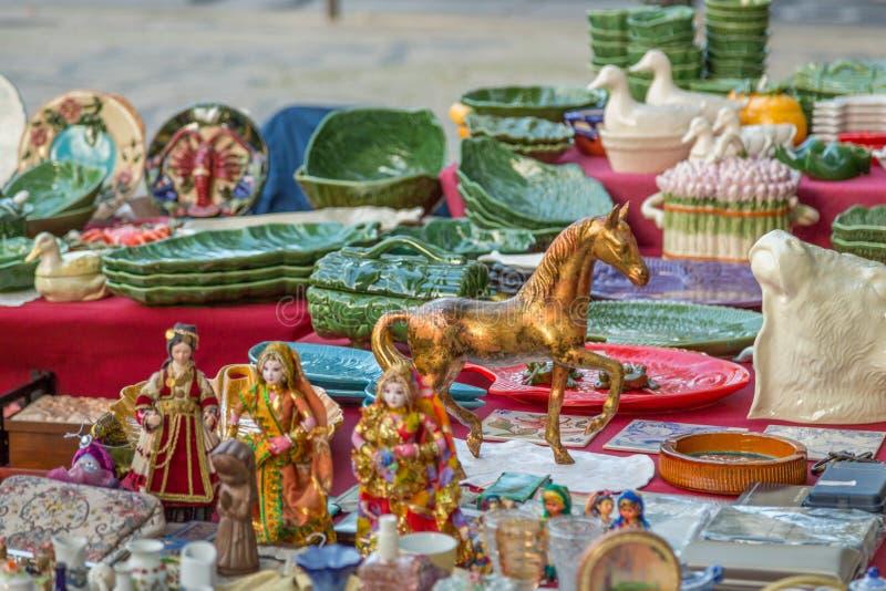 Lisbon Ucieka rynek zdjęcia stock