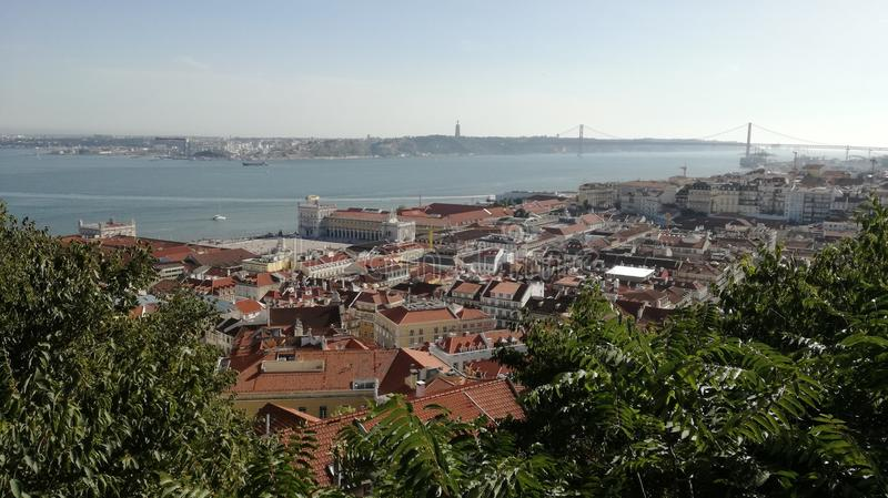 Lisbon view royalty free stock images