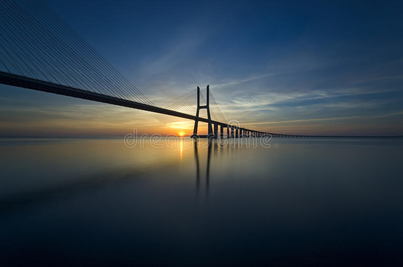 Download Lisbon View stock image. Image of gama, lights, blue - 62360413