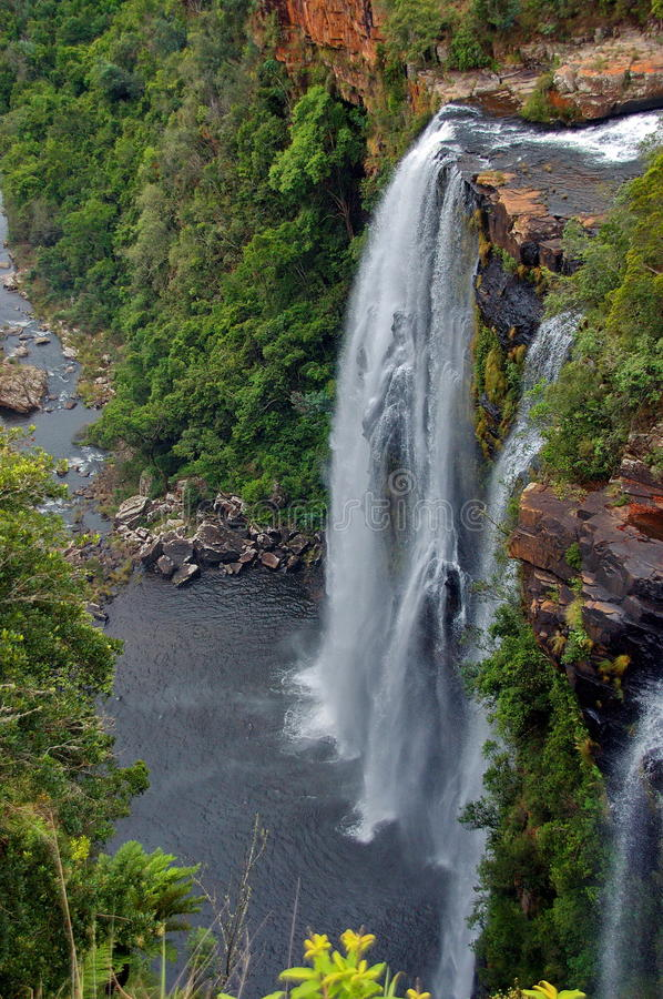 Download Lisbon Waterfall, South Africa Stock Image - Image: 28253739