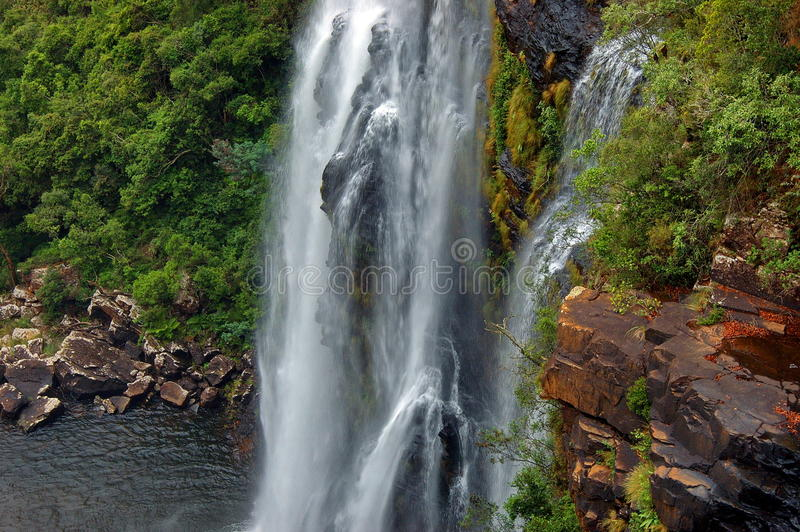 Download Lisbon Waterfall, South Africa Stock Photo - Image: 28253760