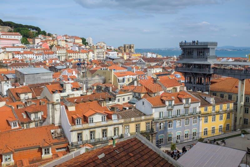 Lisbon widok zdjęcie royalty free