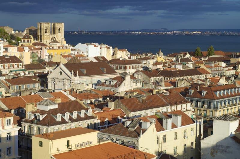 Lisbona fotografie stock