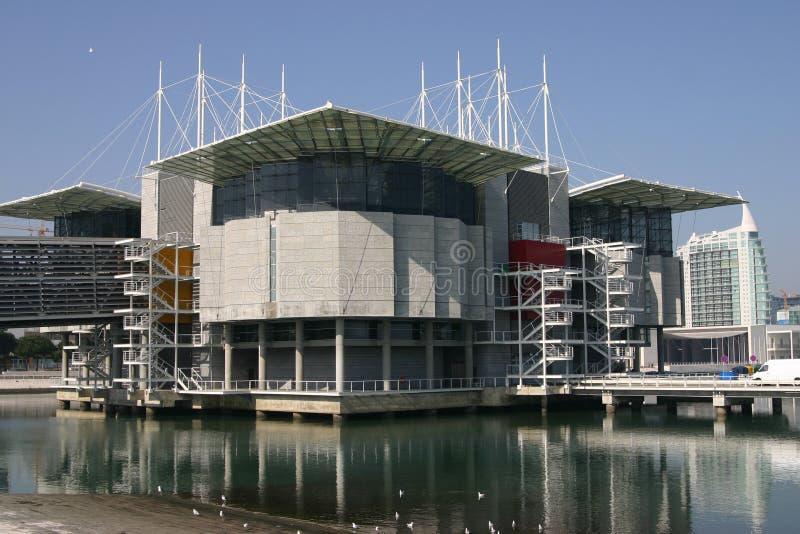 Lisbona Oceanarium in Portu immagini stock