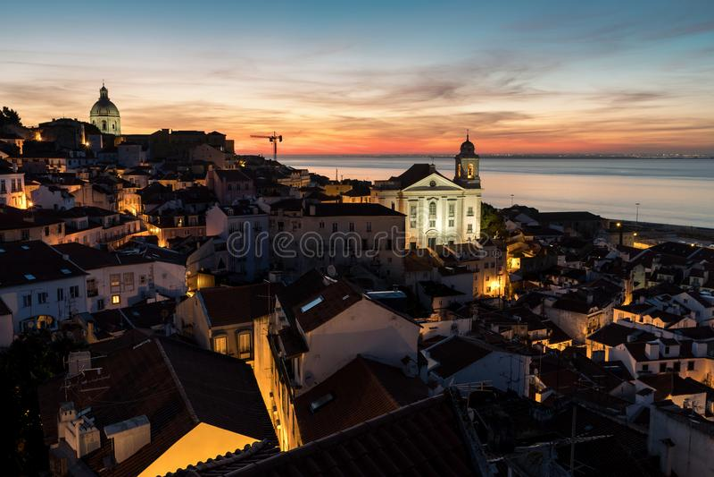 lisbona portugal fotografie stock libere da diritti