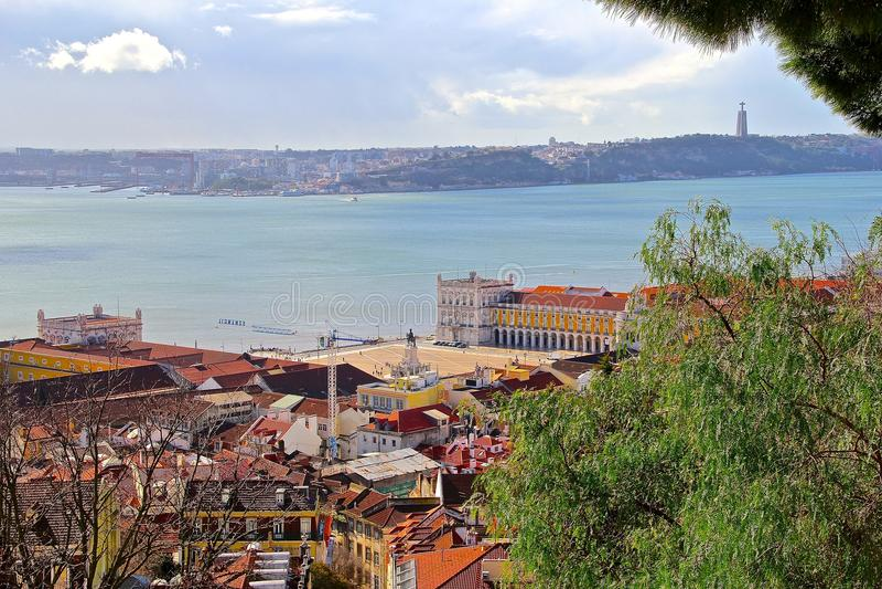 Lisbonne, la ville capitale et plus grande du Portugal photographie stock libre de droits