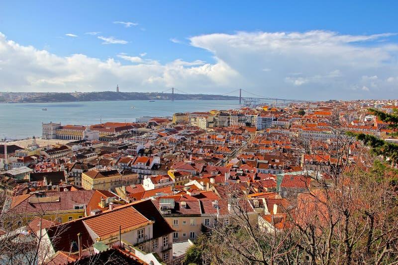 Lisbonne, la ville capitale et plus grande du Portugal photographie stock