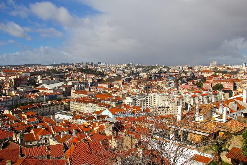 Lisbonne, la ville capitale et plus grande du Portugal images stock